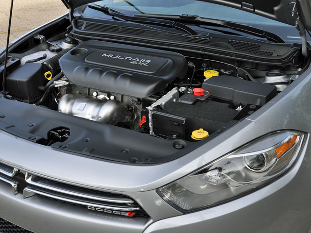 2014 Dodge Dart Limited FWD, 2014 Dodge Dart 2.4-liter Tigershark 4-cylinder engine, engine, gallery_worthy