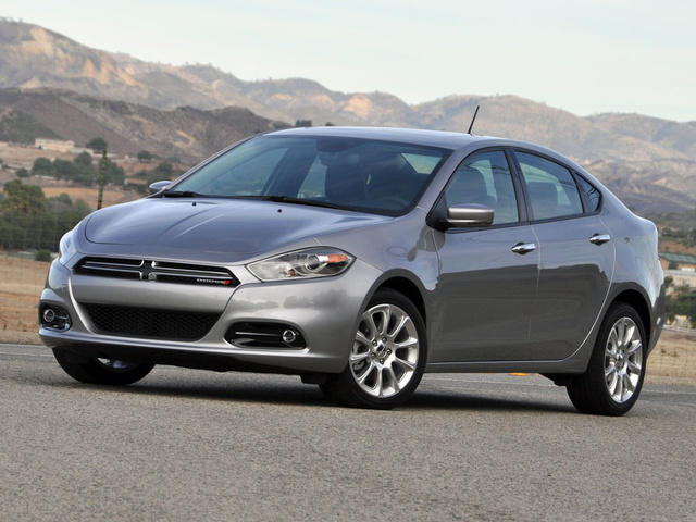 2014 Dodge Dart Limited, exterior