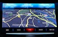 Navigation of the 2014 Cadillac CTS, interior