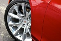 Wheel detail of the 2014 Cadillac CTS, exterior