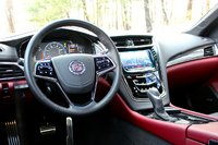Interior of the 2014 Cadillac CTS, interior
