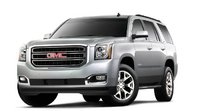 2015 GMC Yukon, Front-quarter view. Copyright General Motors, exterior, manufacturer