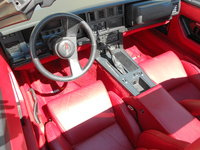 1987 Chevrolet Corvette Coupe, Picture of 1987 Chevrolet Corvette Base, interior