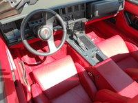 1987 Chevrolet Corvette Coupe, Picture of 1987 Chevrolet Corvette Base, interior