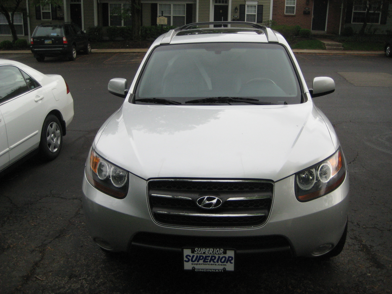 picture of 2007 hyundai santa fe limited awd exterior. Black Bedroom Furniture Sets. Home Design Ideas