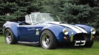 1965 Shelby Cobra Replica based on a Factory 5 Kit and a 1988 Mustang GT donor car, exterior