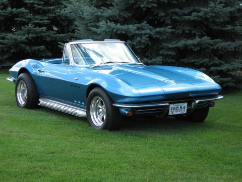 1965 Chevrolet Corvette Convertible Roadster, 1965 Corvette, exterior