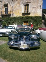 1946 Lincoln Continental Overview
