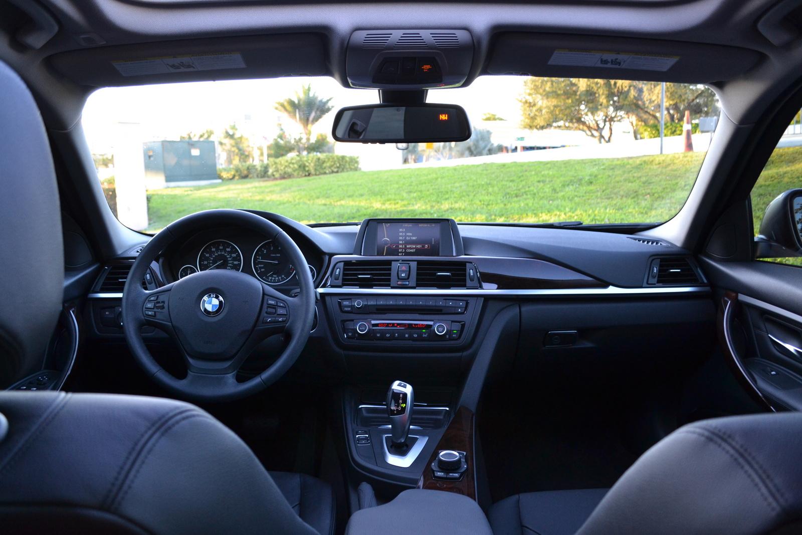 2014 BMW 3 Series Sedan Interior