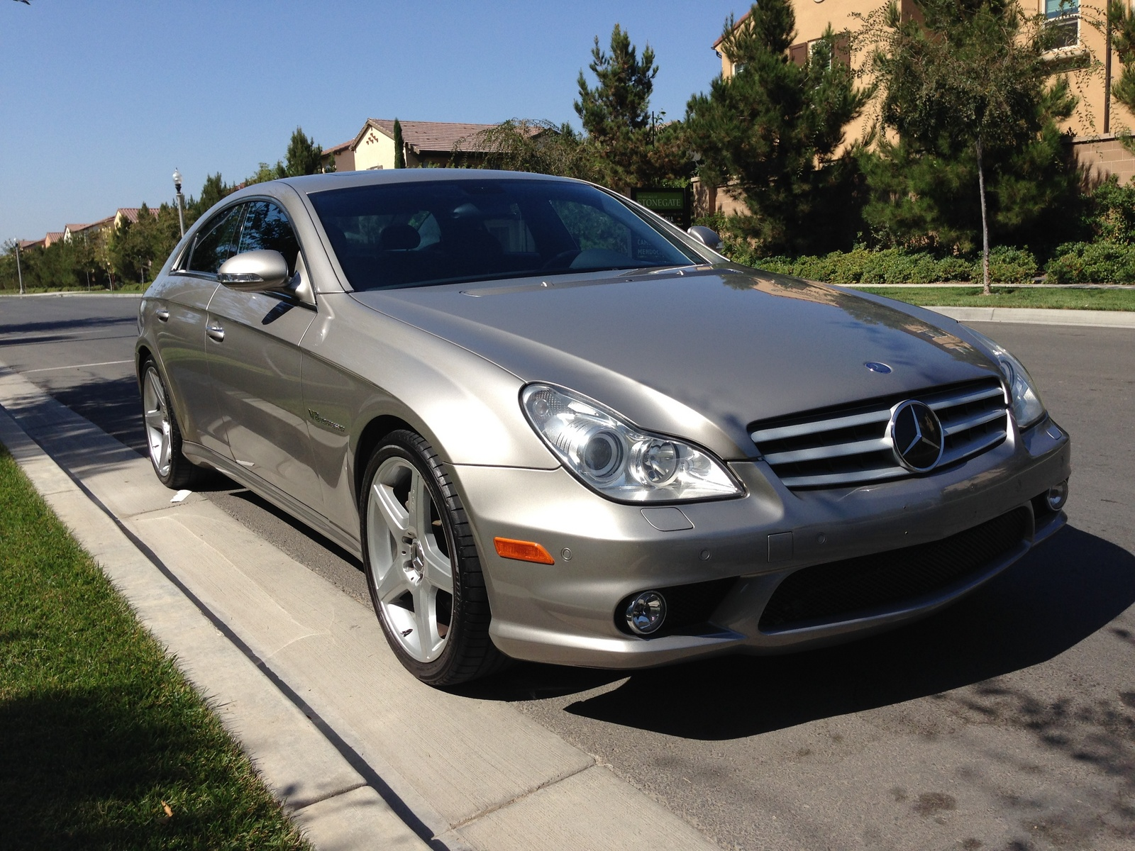 2006 mercedes benz cls class cls55 amg pictures to pin on. Black Bedroom Furniture Sets. Home Design Ideas