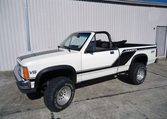 Dodge Dakota Dr Sport Convertible Standard Cab Sb Pic X on 1991 Dodge Dakota Le