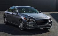 2015 Hyundai Genesis, Front-quarter view, exterior, manufacturer, gallery_worthy