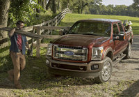2015 Ford F-250 Super Duty, Front-quarter view, exterior, manufacturer, gallery_worthy