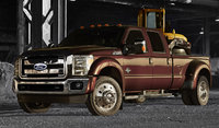 2015 Ford F-450 Super Duty, Front-quarter view, exterior, manufacturer, gallery_worthy