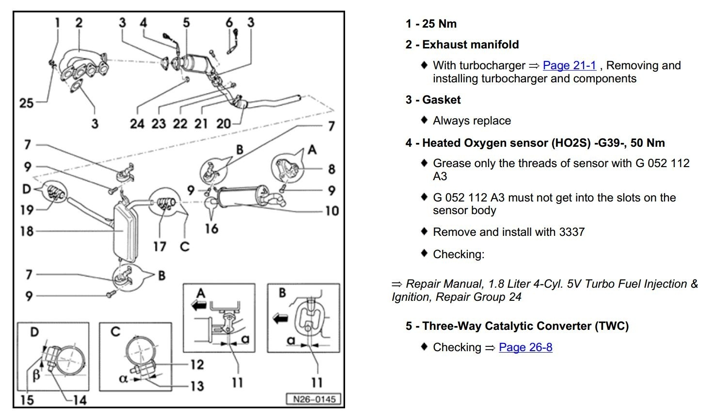 2003 Volkswagen Jetta Exhaust Diagram Category Exhaust Diagram