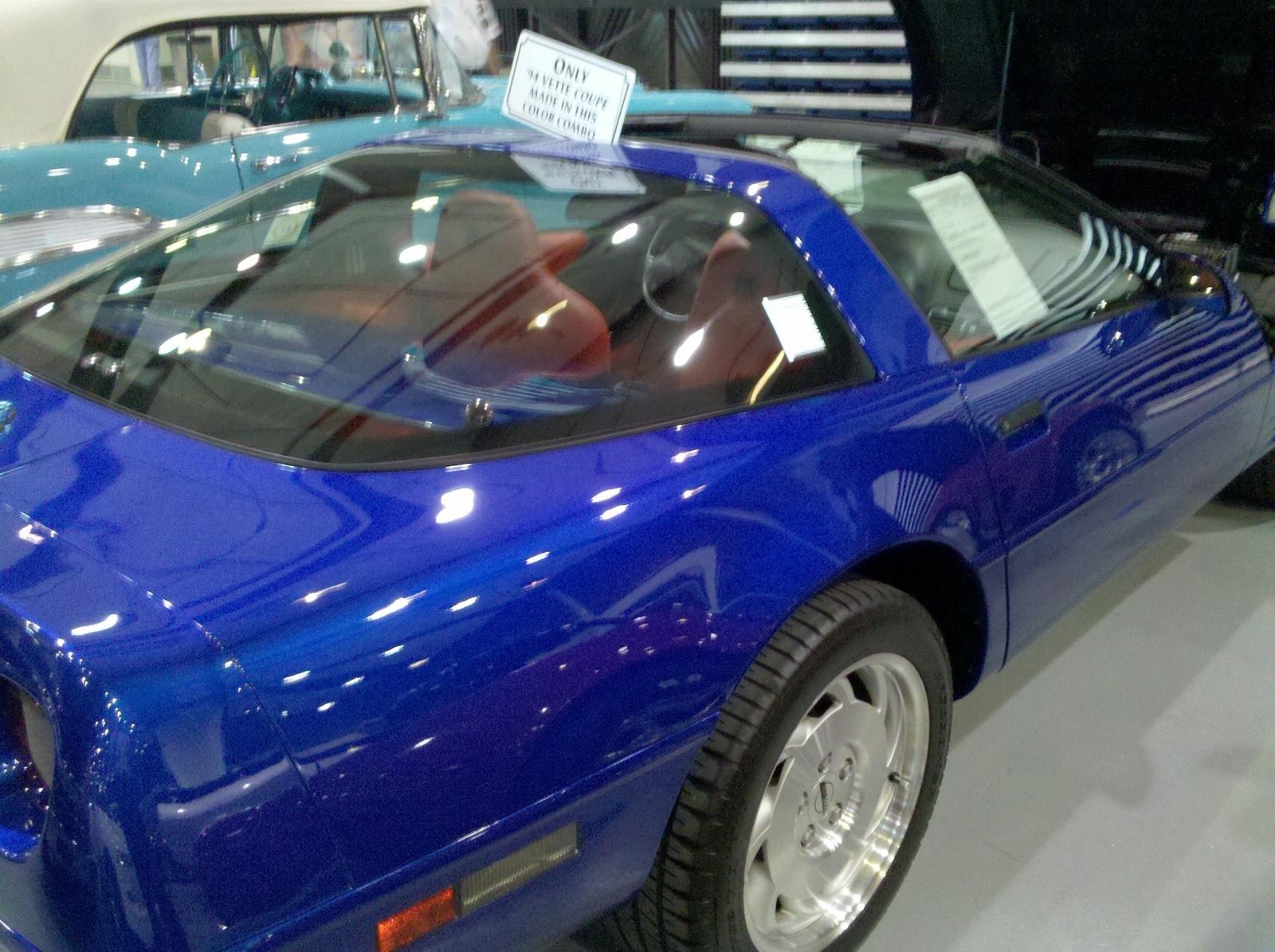 Corvette 1994 chevy corvette : Chevrolet Corvette Questions - In 1994 there were 1584 corvettes ...