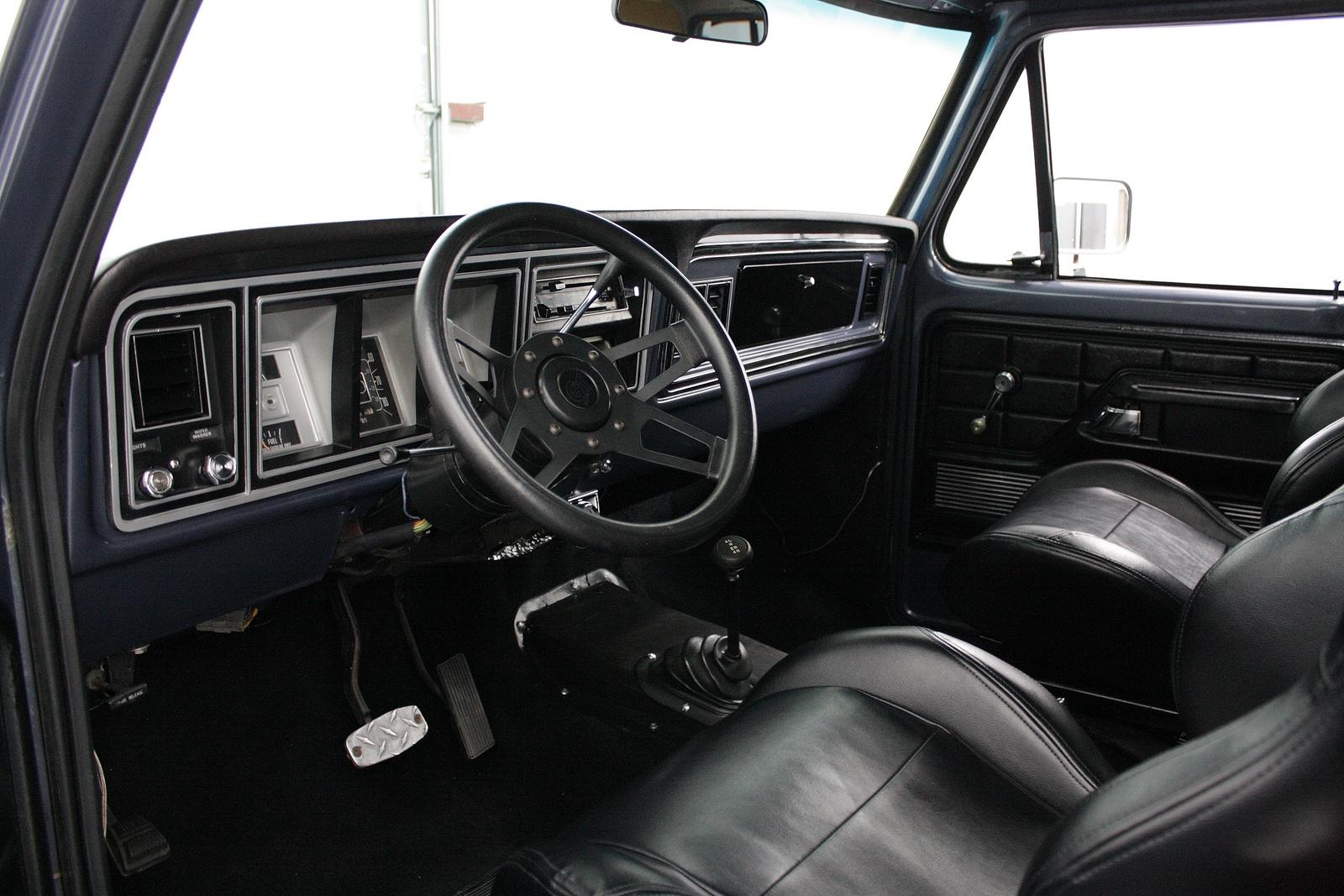 79 Ford Bronco Interior - Carburetor Gallery