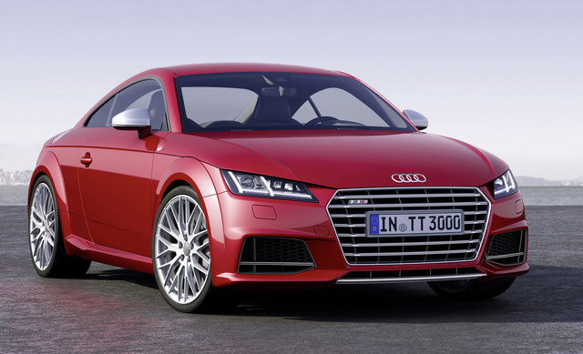 2015 Audi TTS, Front-quarter view, exterior, manufacturer, gallery_worthy