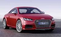 2015 Audi TTS, Front-quarter view, exterior, manufacturer