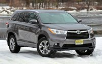 2014 Toyota Highlander XLE V6 AWD, Front 3/4 of the 2014 Toyota Highlander, exterior