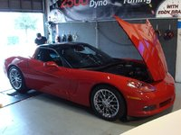 Picture of 2005 Chevrolet Corvette Coupe, exterior, engine