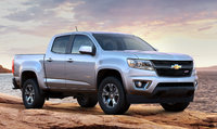 2015 Chevrolet Colorado, Front-quarter view. Copyright General Motors, manufacturer, exterior