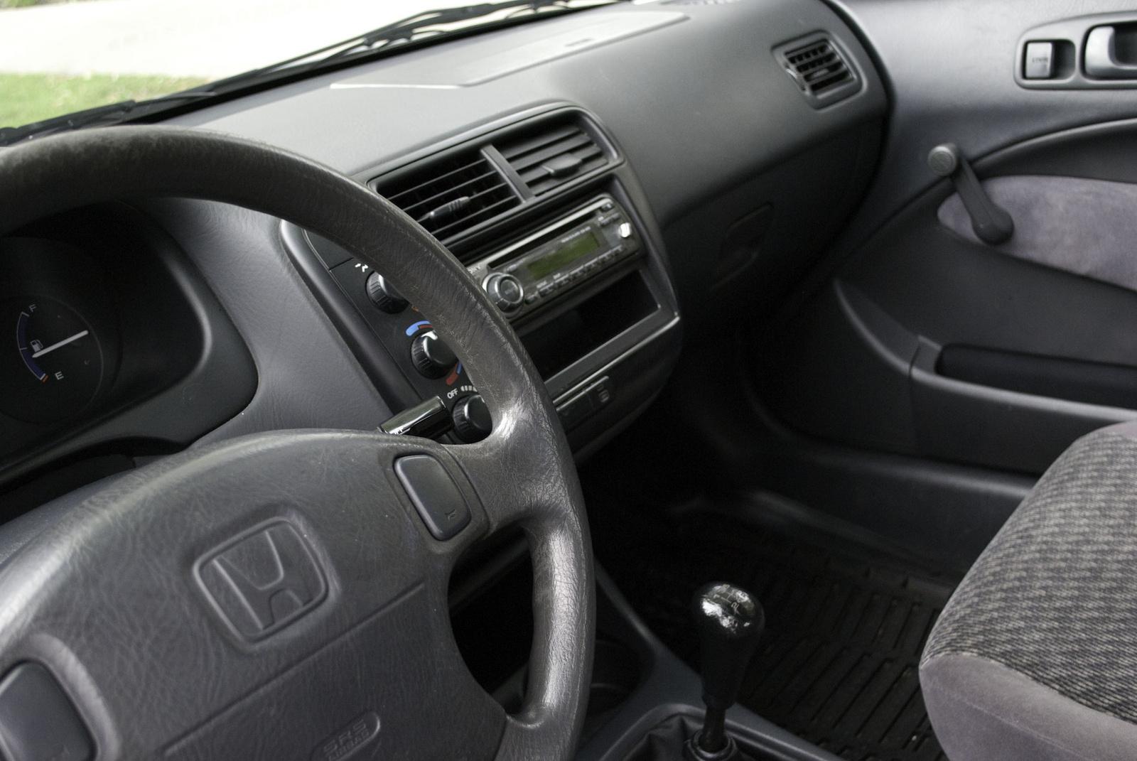 1999 honda civic pictures cargurus - 1996 honda civic hatchback interior ...