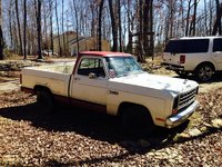 1984 Dodge Ram, Side, exterior