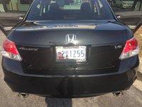 2010 Honda Accord EX-L V6, Rear, exterior, gallery_worthy