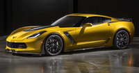 2015 Chevrolet Corvette, Front-quarter view. Copyright General Motors, manufacturer, exterior