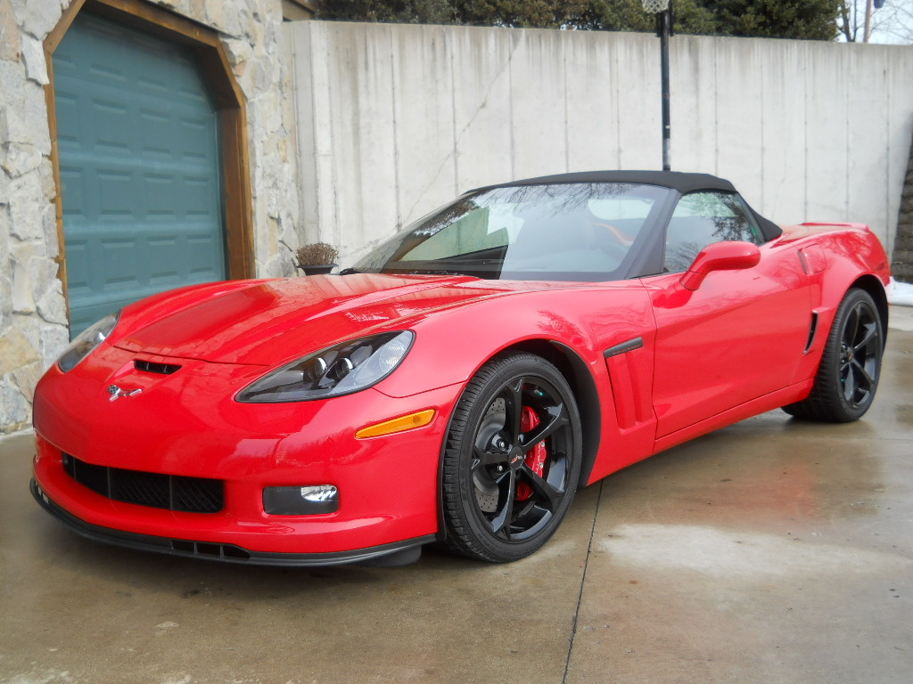 2013 chevrolet grand sport 2lt convertible red autos post. Black Bedroom Furniture Sets. Home Design Ideas