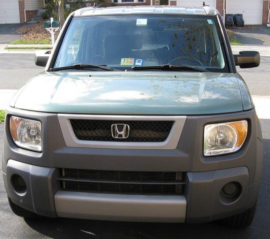 2011 Honda Element Exterior: 2003 Honda Element