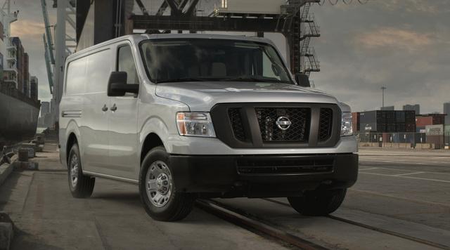2014 Nissan NV Cargo, Front-quarter view, exterior, manufacturer