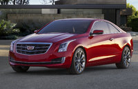 2015 Cadillac ATS Coupe, Front-quarter view. Copyright General Motors, exterior, manufacturer, gallery_worthy