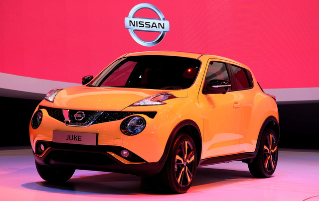 2015 Nissan Juke, Front-quarter view from the Geneva Auto Show, exterior, manufacturer, gallery_worthy