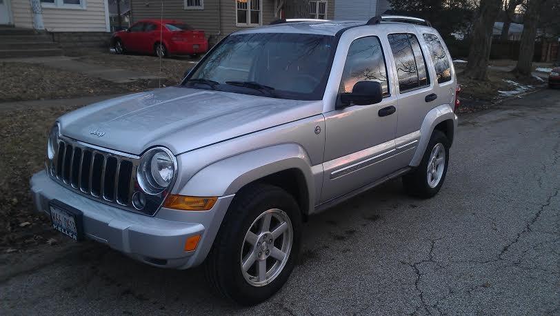 jeep liberty 2007: