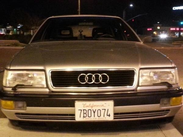 Picture of 1990 Audi V8 4 Dr quattro AWD Sedan