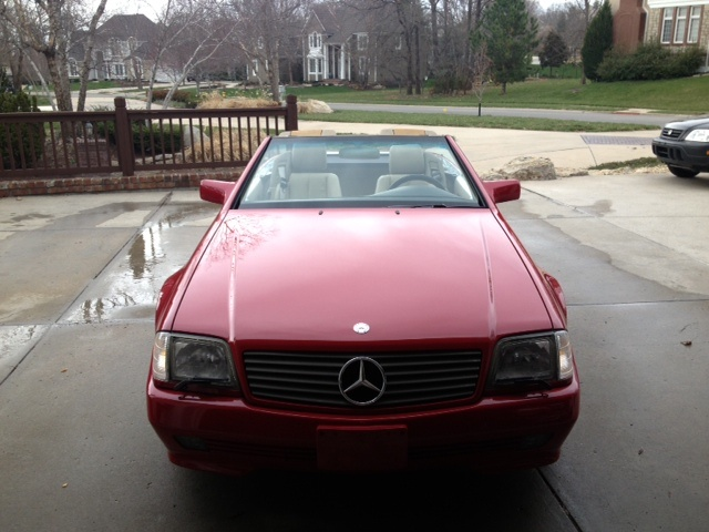 Picture of 1995 Mercedes-Benz SL-Class 2 Dr SL320 Convertible