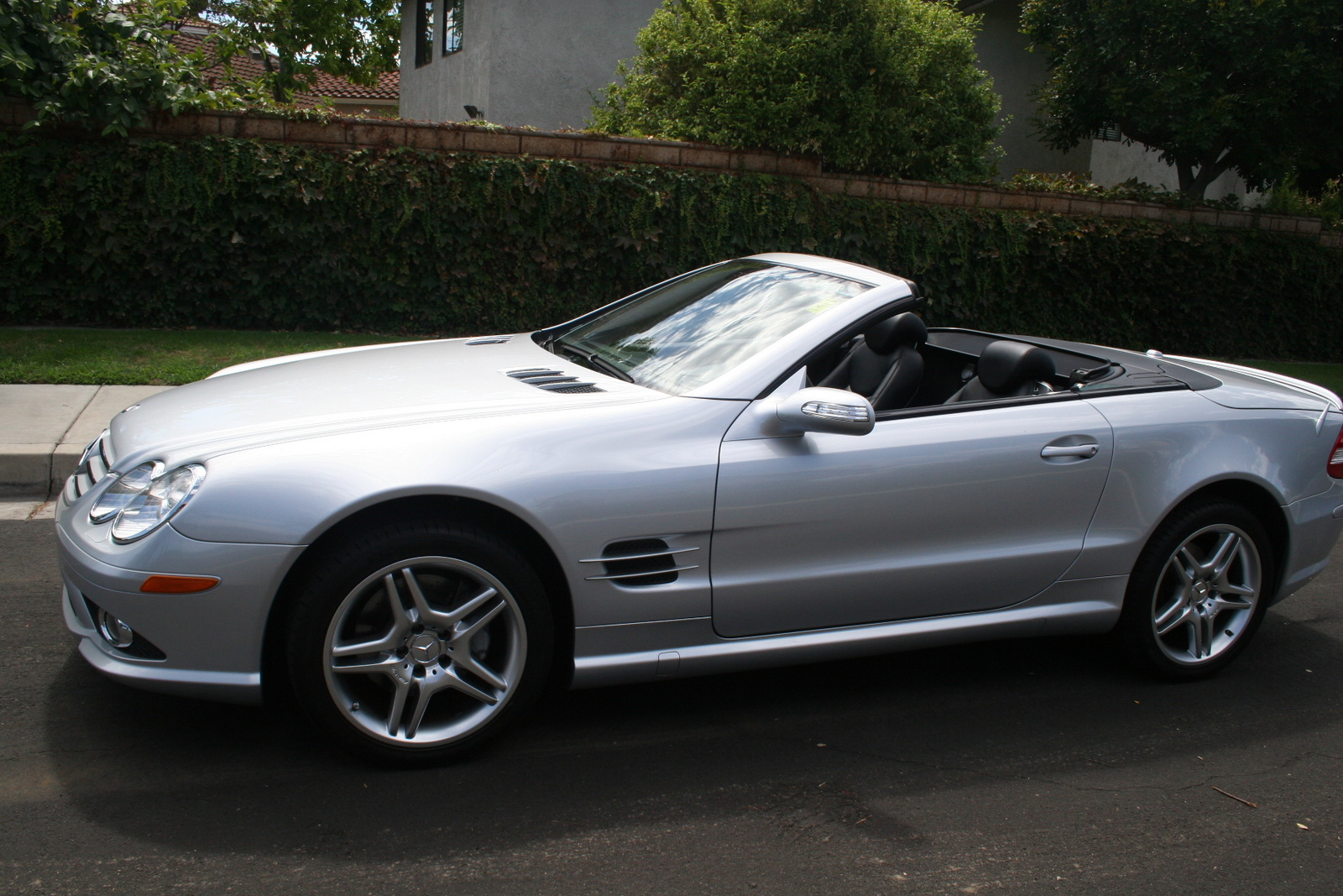 Picture of 2007 mercedes benz sl class sl550 exterior for Mercedes benz s class 2007
