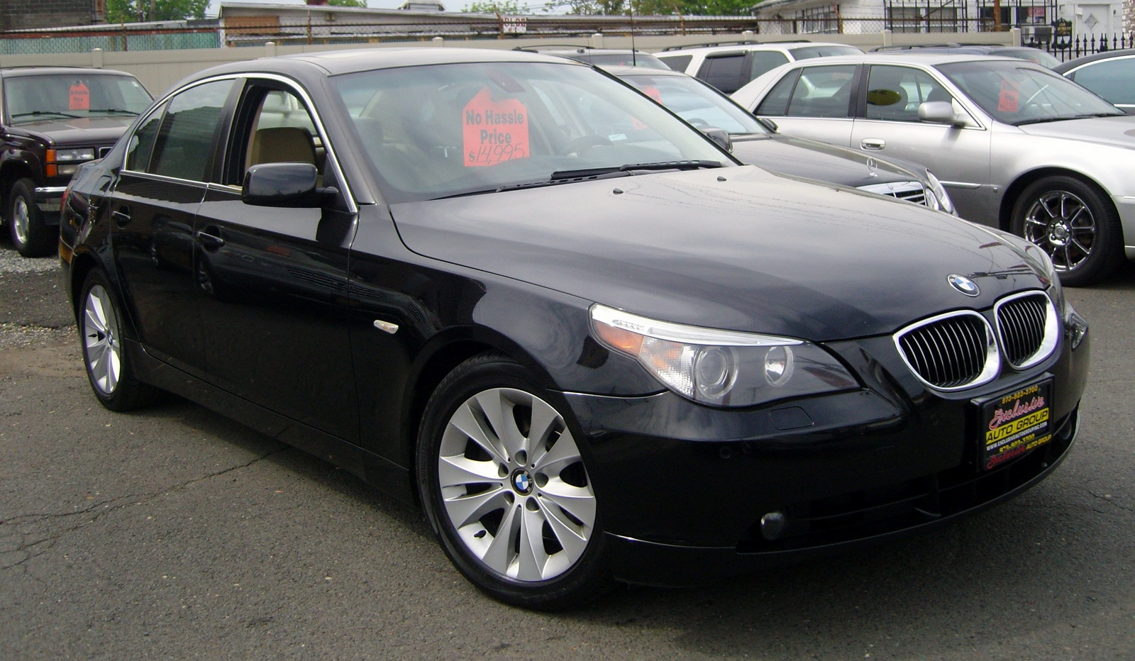 picture of 2005 bmw 5 series 545i exterior. Black Bedroom Furniture Sets. Home Design Ideas