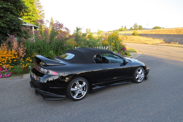 Picture of 1996 Mitsubishi Eclipse Spyder 2 Dr GS Convertible, exterior, gallery_worthy