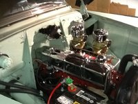 Picture of 1953 Chevrolet Bel Air, engine