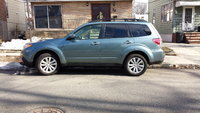 2012 Subaru Forester 2.5X Premium, Side view of the car., exterior