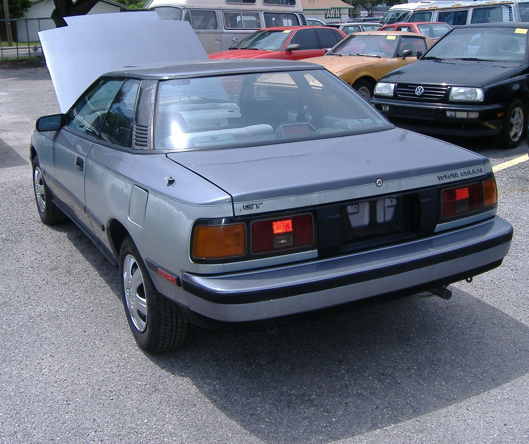 Toyota Celica Coupe Hatchback To: 1987 Toyota Celica