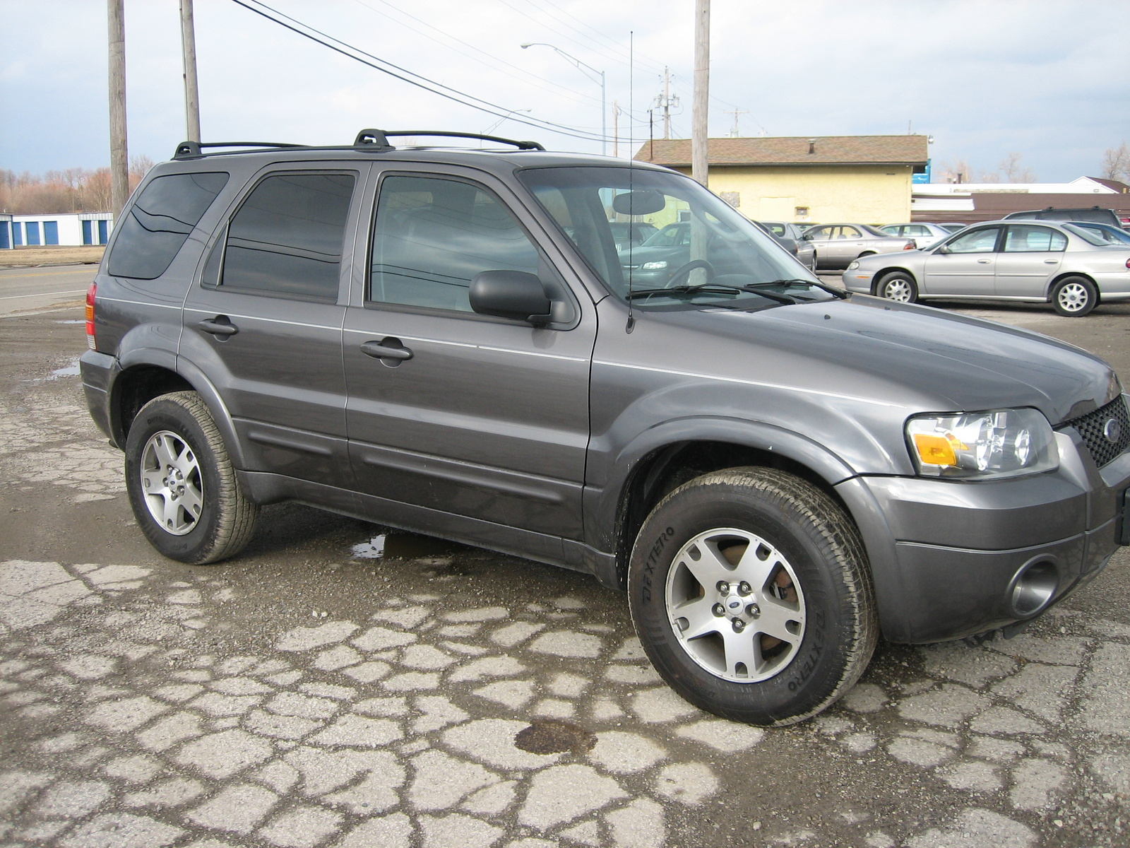 picture of 2005 ford escape limited 4wd exterior. Cars Review. Best American Auto & Cars Review