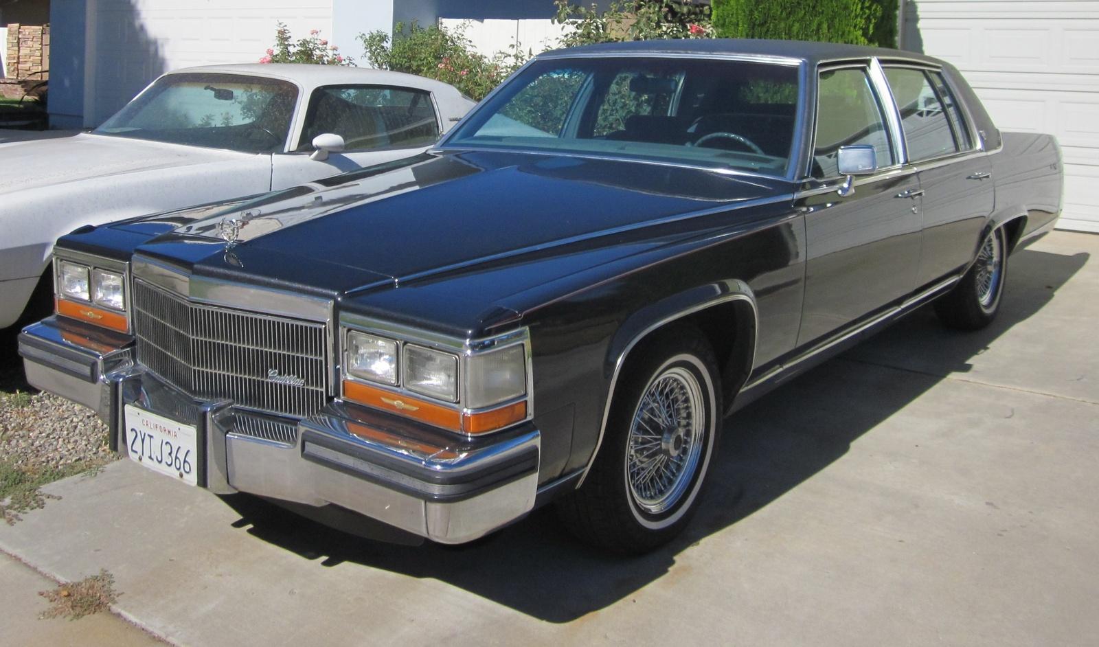 1987 Cadillac Brougham Overview Cargurus