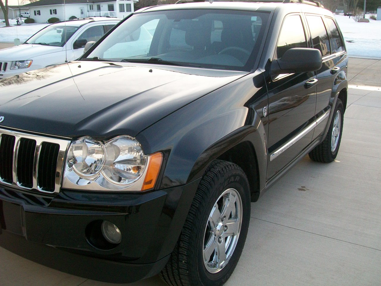 picture of 2007 jeep grand cherokee limited exterior. Black Bedroom Furniture Sets. Home Design Ideas