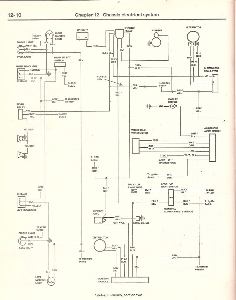 Ford F 250 Questions I Have A 1977 Only The Rear Turn Wiring Diagram For Signals 3 People Found This Helpful