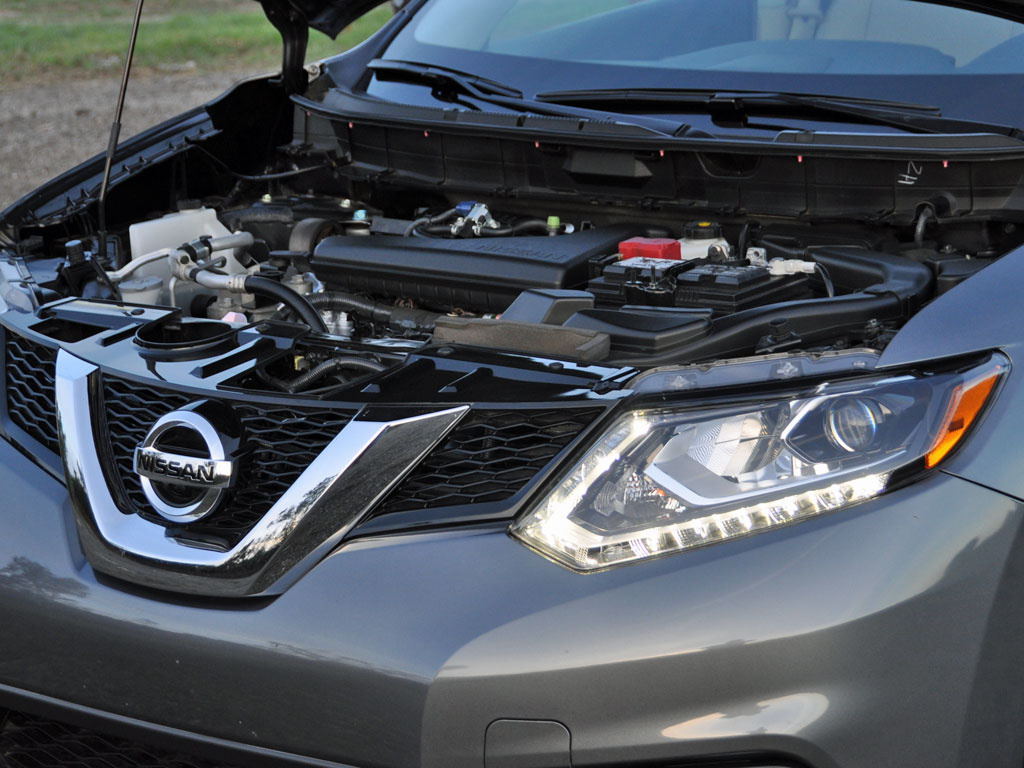 2014 Nissan Rogue SV w/ SL, 2014 Nissan Rogue 2.5-liter 4-cylinder engine, engine