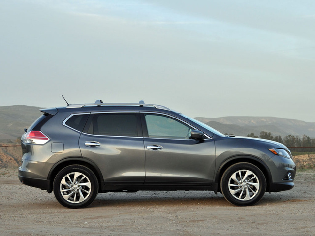 2014 Nissan Rogue SL, exterior, gallery_worthy